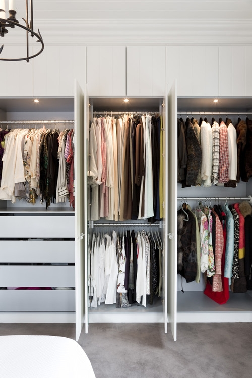 Dream Wardrobe Ideas For Fashion Enthusiasts nicely inside Tall Double Hanging Rail Wardrobes (Image 2 of 30)
