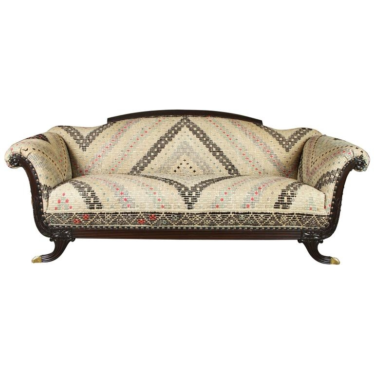 Duncan Phyfe Style Sofa 1930s At 1stdibs Effectively With 1930s Couch (View 3 of 20)
