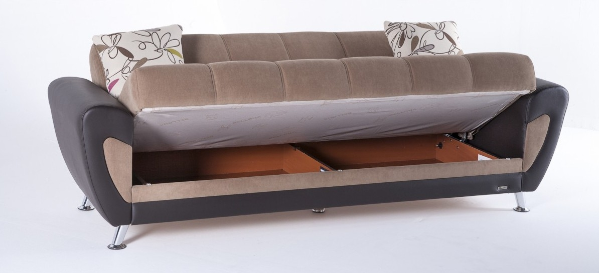 Duru Sofa Bed Set definitely inside Storage Sofa Beds (Image 3 of 20)