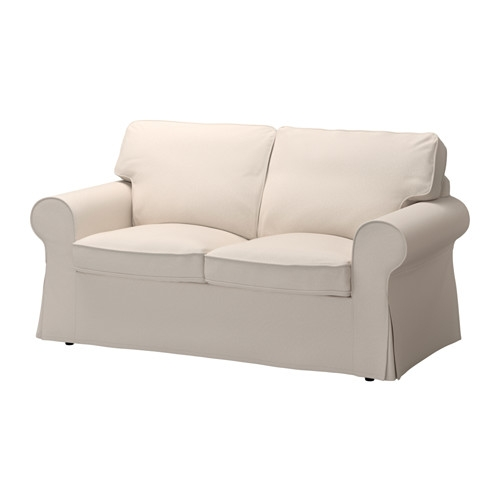 Ektorp Two Seat Sofa Lofallet Beige Ikea perfectly for IKEA Two Seater Sofas (Image 3 of 20)
