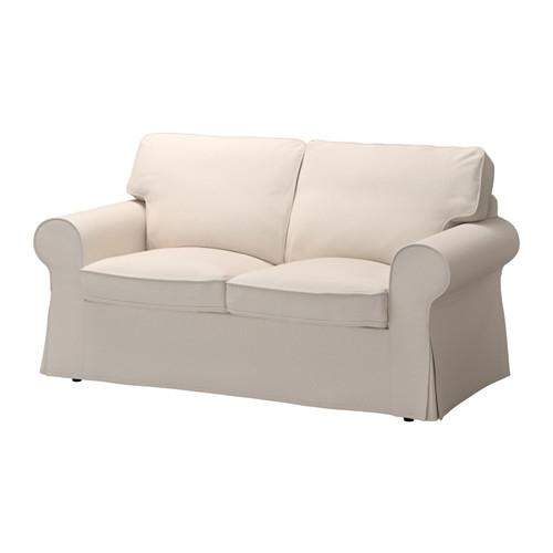 Ektorp Two Seat Sofa Lofallet Beige Ikea Perfectly For IKEA Two Seater Sofas (View 3 of 20)