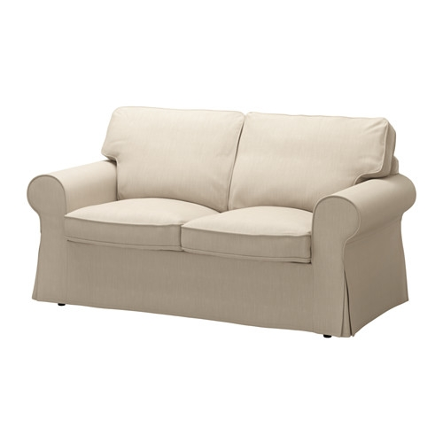 Ektorp Two Seat Sofa Nordvalla Dark Beige Ikea most certainly for IKEA Two Seater Sofas (Image 4 of 20)