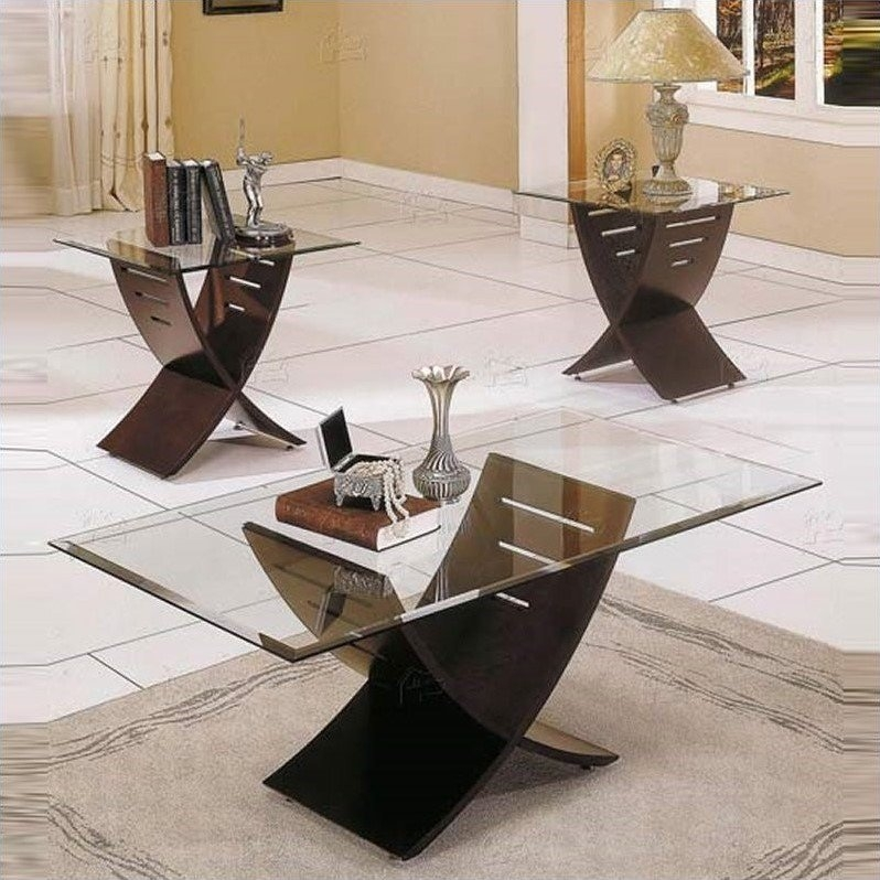Elegant Coffee Table Sets nicely with regard to Coffee Table With Matching End Tables (Image 13 of 20)