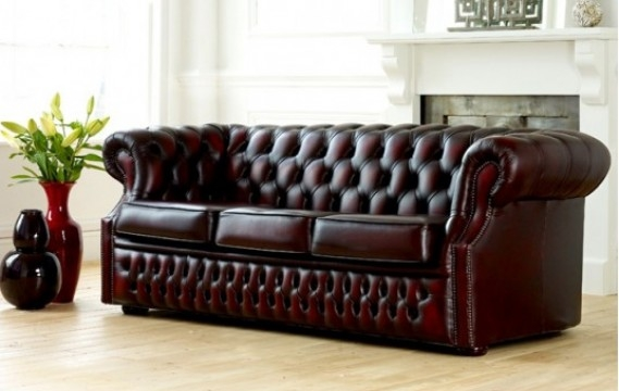 Elegant Leather Chesterfield Sofa Leather Chesterfield Sofas The nicely pertaining to Leather Chesterfield Sofas (Image 12 of 20)