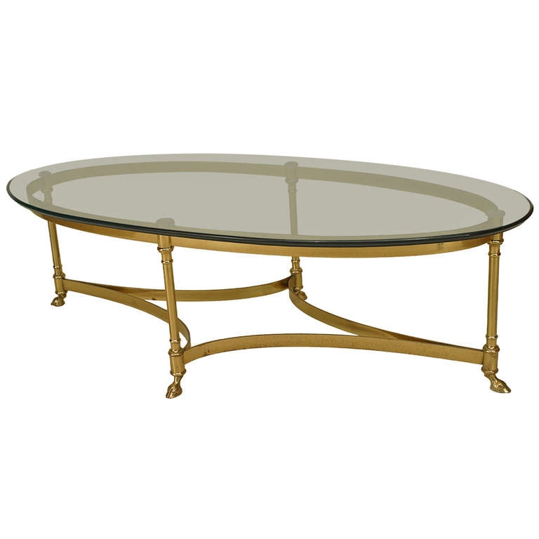 Enchanting Oval Glass Coffee Table 1000 Images About Oval Coffee clearly intended for Oval Glass Coffee Tables (Image 12 of 20)