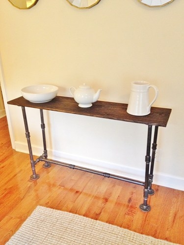 Entry Table Foyer Table Console Table Narrow Sofa Table most certainly pertaining to Narrow Sofa Tables (Image 7 of 20)