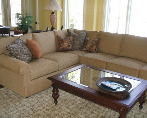 Ethan Allen Sectional Houzz most certainly intended for Ethan Allen Sofas and Chairs (Image 8 of 20)