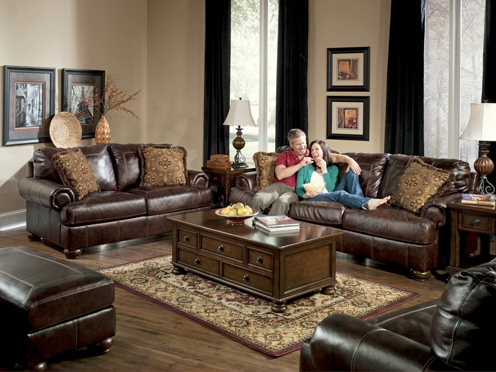 Exquisite Ashley Leather Living Room Furniture 71r99ezu4kl Sx355 effectively with regard to Living Room Sofas (Image 6 of 20)