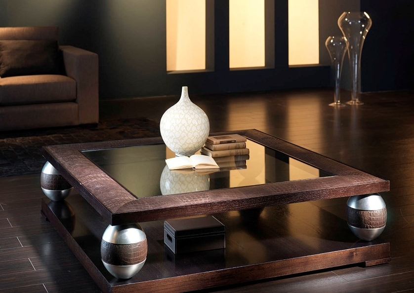 Exquisite Glass Coffee Tables Presenting Cool Accessory For All Very Well In Unusual