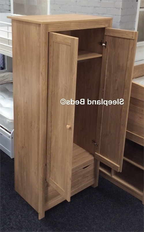 External 7 Drawer Chest Of Drawers Or 2 Door Wardrobe To Add With effectively regarding Oak Wardrobe With Drawers And Shelves (Image 10 of 30)