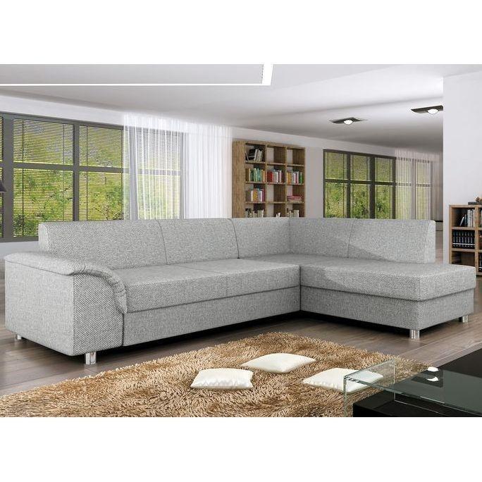 Fabric Corner Sofas Furniture Ebay very well regarding Fabric Corner Sofa Bed (Image 8 of 20)