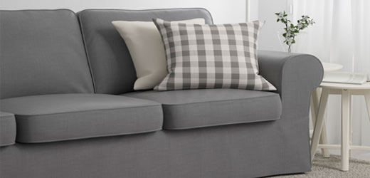 Fabric Couches Sofas Ikea Nicely Pertaining To Sofa Arm Chairs (View 13 of 20)