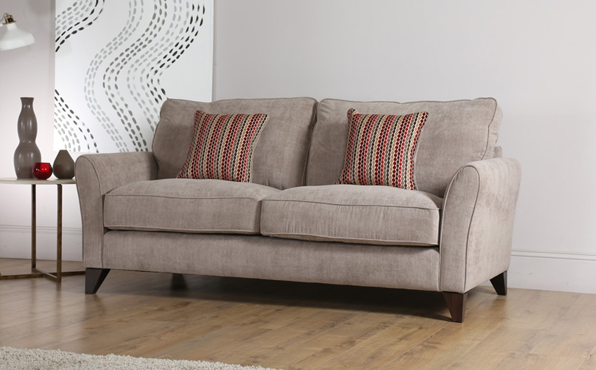 Fabric Sofa effectively in Fabric Sofas (Image 6 of 20)