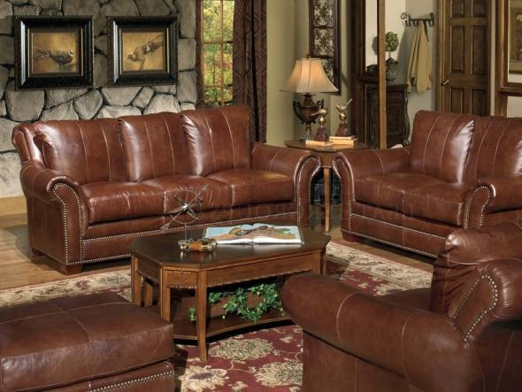 Fabulous Full Leather Sofa Full Grain Leather Couch14 Brilliant nicely in Full Grain Leather Sofas (Image 4 of 20)