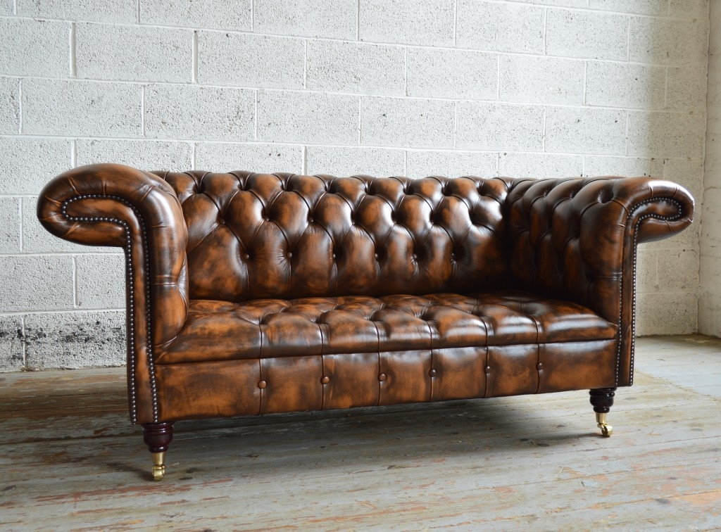 Fantastic Brown Leather Chesterfield Sofa Tan Leather Chesterfield good regarding Leather Chesterfield Sofas (Image 14 of 20)