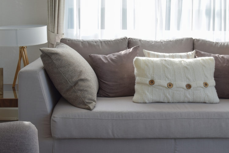 Firm Up Frumpy Sofa Cushions With This Trick Simplemost nicely regarding Sofa Cushions (Image 10 of 20)