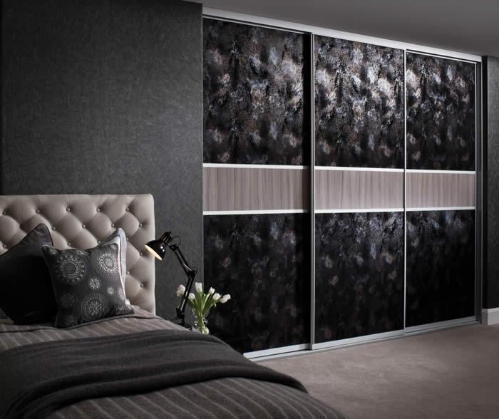 20 Ideas Of Dark Wood Wardrobe Doors