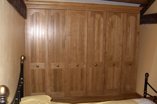 Fitted Oak Bedroom Furniture nicely pertaining to Solid Wood Fitted Wardrobes (Image 1 of 30)