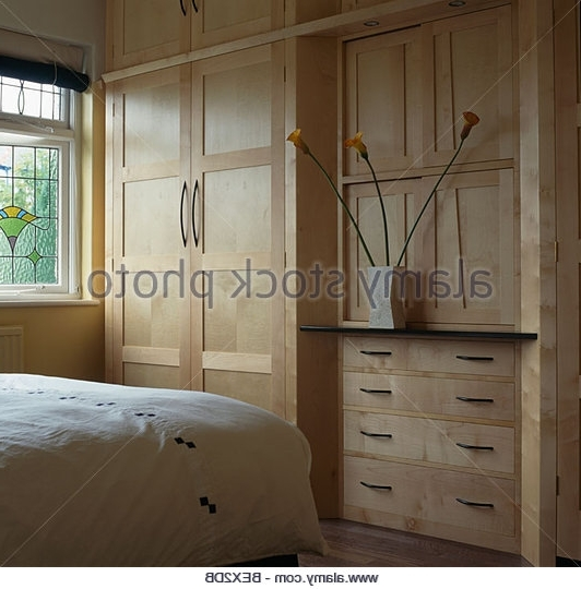 Fitted Wardrobes Stock Photos Fitted Wardrobes Stock Images Alamy clearly throughout Drawers for Fitted Wardrobes (Image 14 of 30)