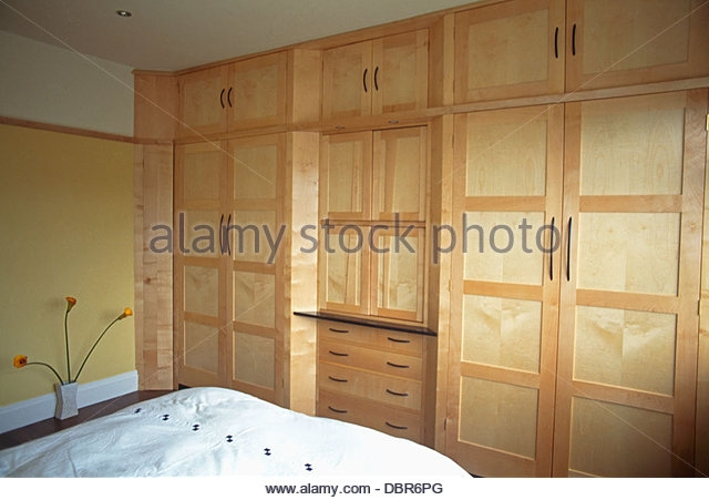 Fitted Wardrobes Stock Photos Fitted Wardrobes Stock Images Alamy effectively with regard to Fitted Wooden Wardrobes (Image 12 of 30)