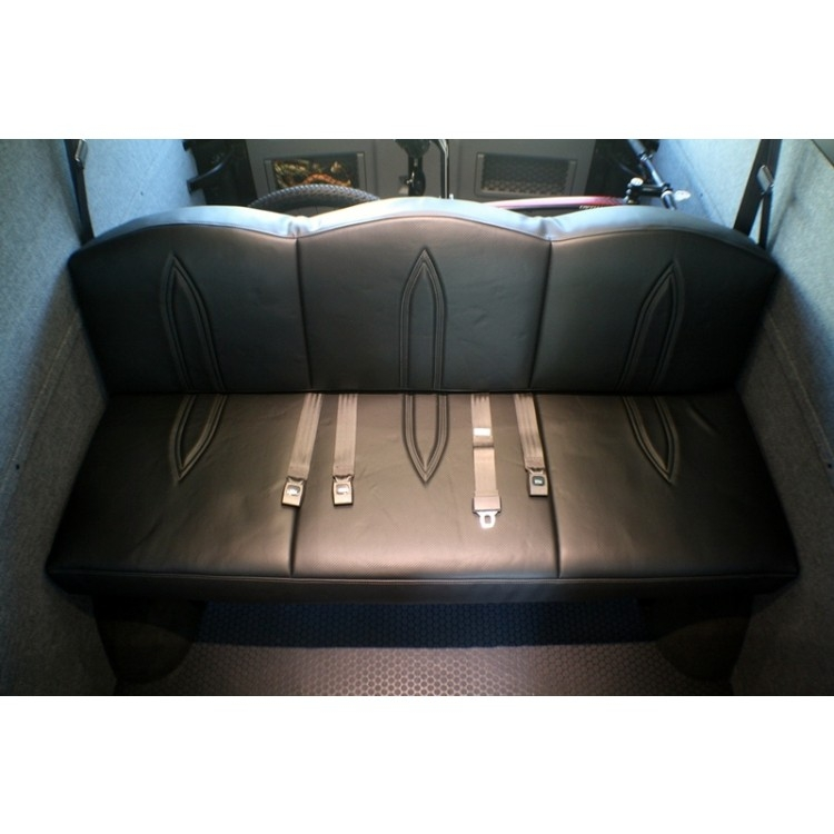 Floor Mount Jackknife Sofasleeper 68 Sprinter Van most certainly inside 68 Inch Sofas (Image 8 of 20)