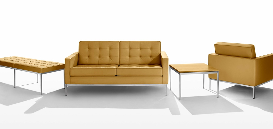 Florence Knoll Sofa Knoll good within Florence Sofas (Image 9 of 20)
