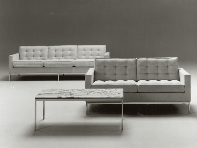 Florence Knoll Sofa Knoll properly within Florence Sofas (Image 12 of 20)