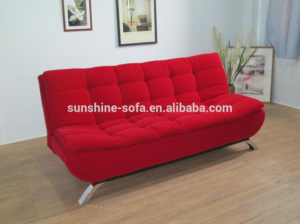 Folding Fold Down Sofa Bed With Cushion Sofa Set Furniture Design Effectively Pertaining To Cushion Sofa Beds (View 11 of 20)
