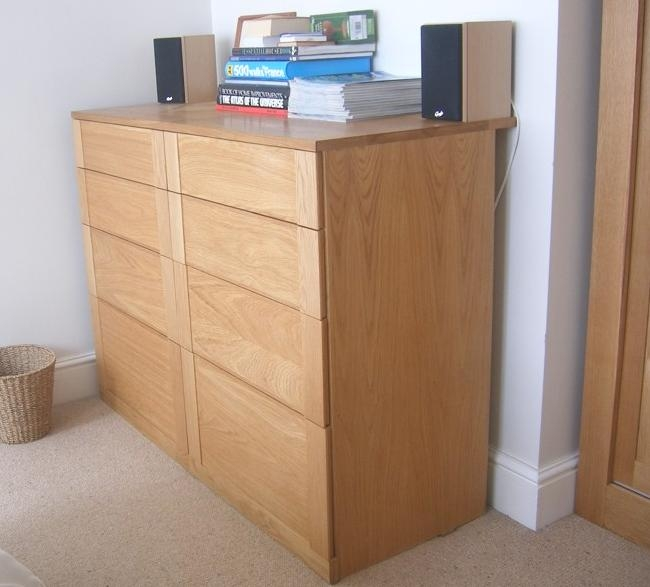 Free Standing Oak Wardrobes definitely with regard to Tall Double Hanging Rail Wardrobes (Image 14 of 30)