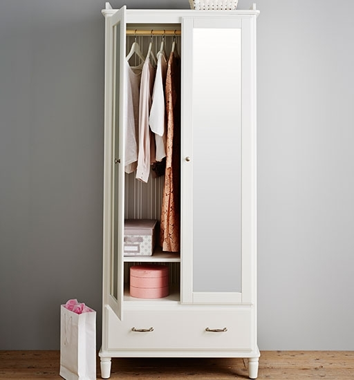 Free Standing Wardrobes Ikea nicely in 2 Door Wardrobe With Drawers and Shelves (Image 11 of 30)