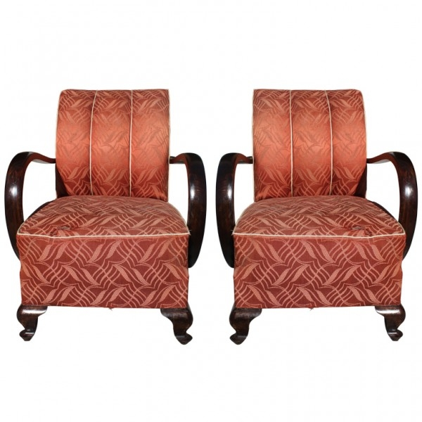 French Art Deco Furniture clearly regarding Art Deco Sofa and Chairs (Image 13 of 20)