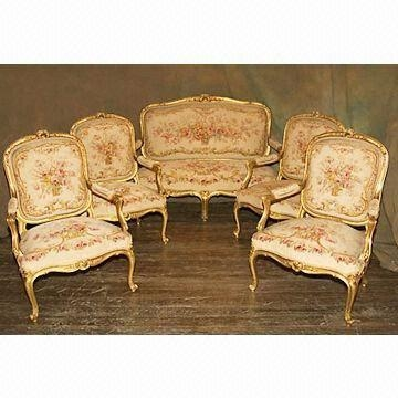 French Royal Court Embroidered Sofa And Chair Covers With One Most Certainly Within Covers For Sofas And Chairs (View 16 of 20)