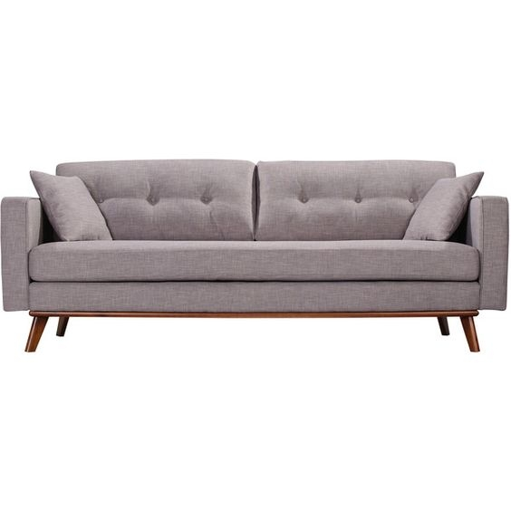 Frey Sofa 1299 Liked On Polyvore Featuring Home Furniture perfectly throughout Mod Sofas (Image 16 of 20)