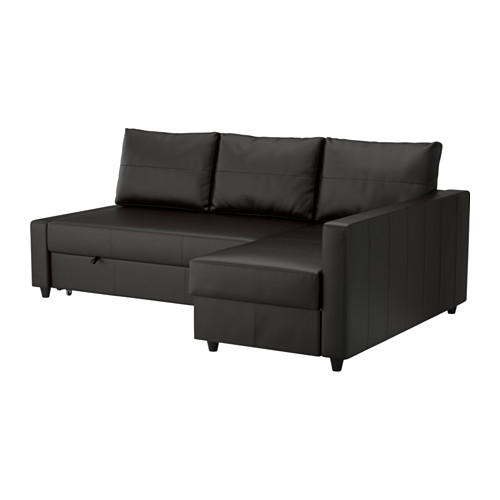 Friheten Corner Sofa Bed With Storage Skiftebo Dark Gray Ikea clearly throughout Corner Couch Bed (Image 8 of 20)