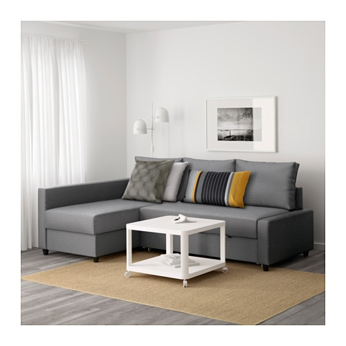 Friheten Corner Sofa Bed With Storage Skiftebo Dark Grey Ikea good for Corner Sofa Bed With Storage Ikea (Image 11 of 20)