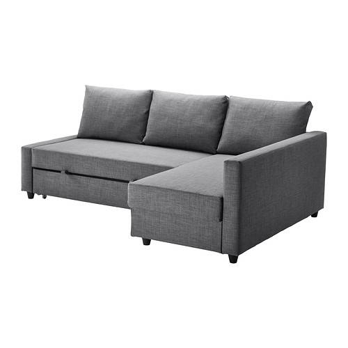 Friheten Corner Sofa Bed With Storage Skiftebo Dark Grey Ikea most certainly pertaining to Corner Couch Bed (Image 12 of 20)