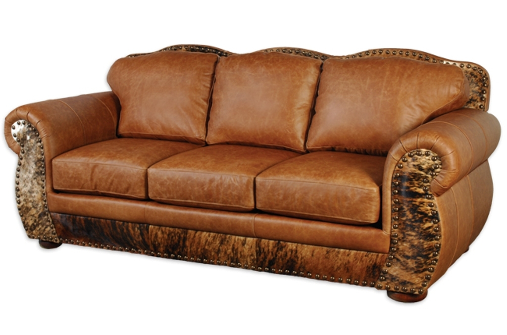 Full Grain Leather Sofa Curved New Lighting Full Grain Leather good for Full Grain Leather Sofas (Image 7 of 20)