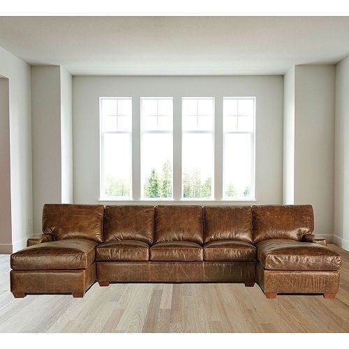 Full Grain Leather Sofa Ebay well regarding Full Grain Leather Sofas (Image 8 of 20)