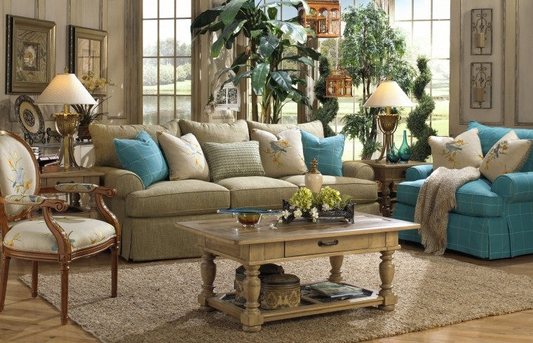 Furniture Classy Ideas And Inspiration For Paula Deen Furniture well inside Craftmaster Sectional Sofa (Image 12 of 20)