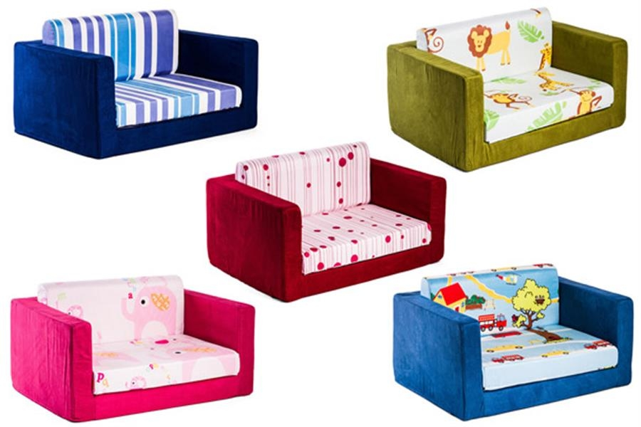 Furniture Fantastic Zebra Flip Out Kids Sofa Bed And Best Kids effectively with Childrens Sofa Bed Chairs (Image 11 of 20)