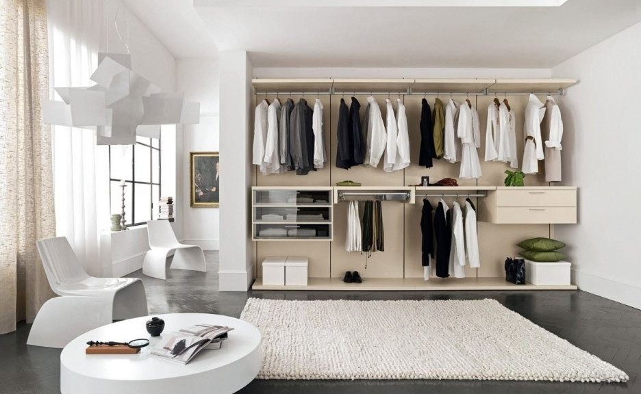 Furniture Fascinating Walk In Wardrobe Design Ideas Kropyok Home most certainly pertaining to Dark Wood Wardrobes Ikea (Image 19 of 30)
