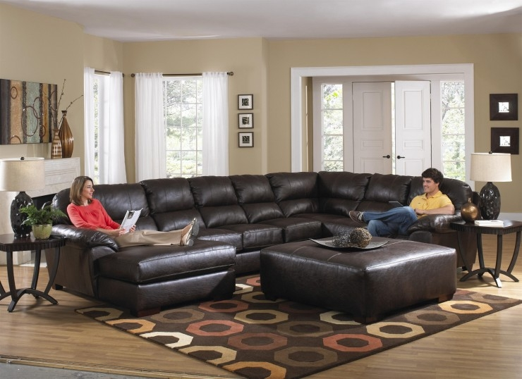 Furniture Impressive Lazy Boy Sectional For Living Room Furniture definitely inside 7 Seat Sectional Sofa (Image 6 of 20)