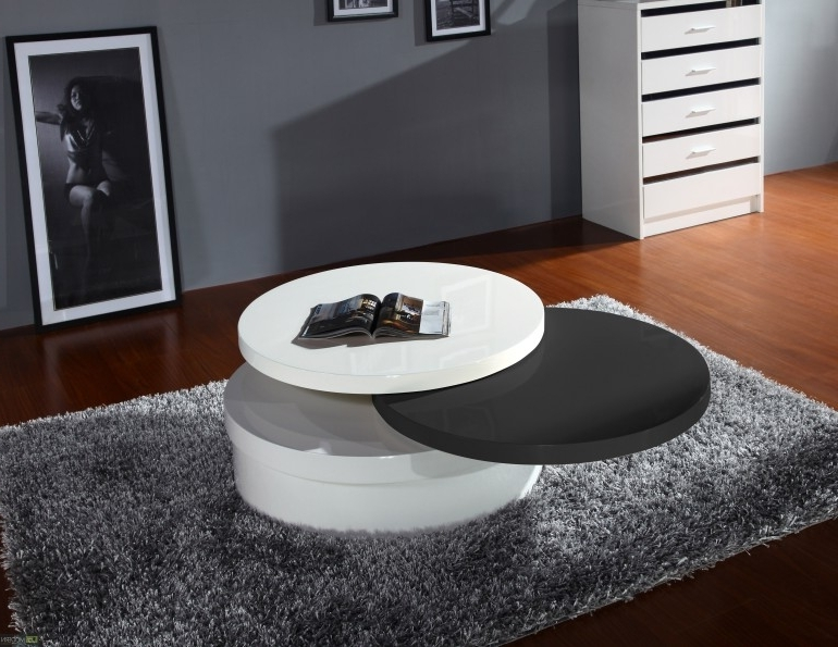 Furniture Modern Coffee Table Design Ideas With Swivel Coffee effectively pertaining to Unusual Glass Top Coffee Tables (Image 30 of 30)