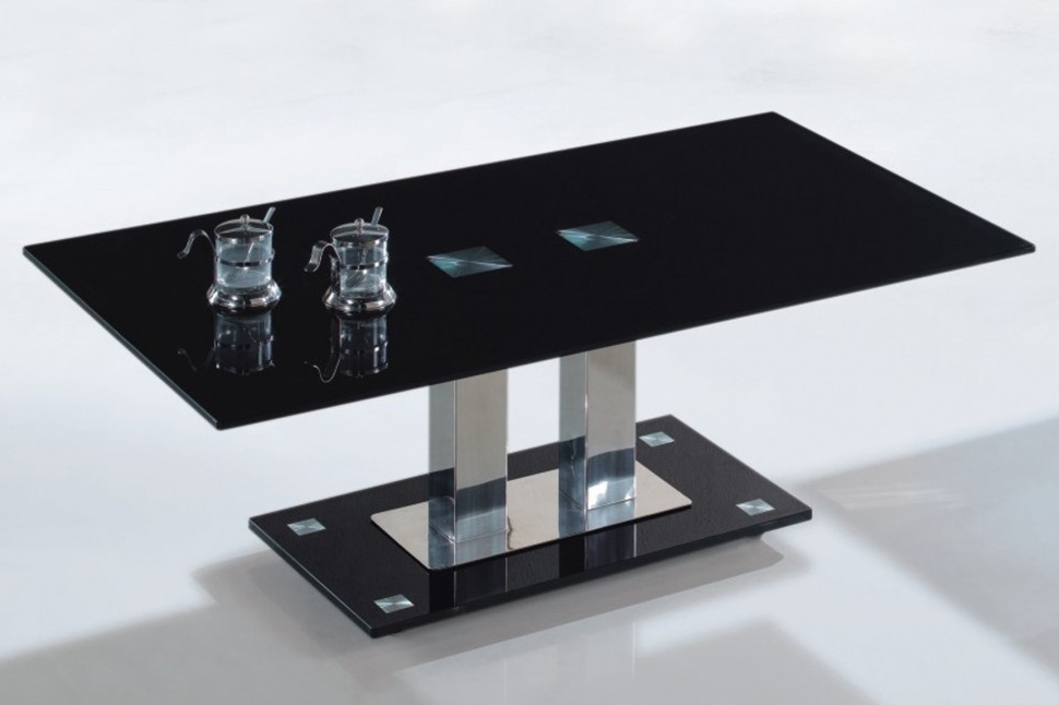 Furniture Unique Modern Coffee Tables Design Ideas With Black good regarding Unique Black Glass Coffee Table (Image 8 of 30)