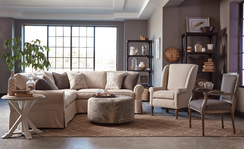 Furnitures Fill Your Home With Luxury Craftmaster Furniture For very well pertaining to Craftsman Sectional Sofa (Image 15 of 20)