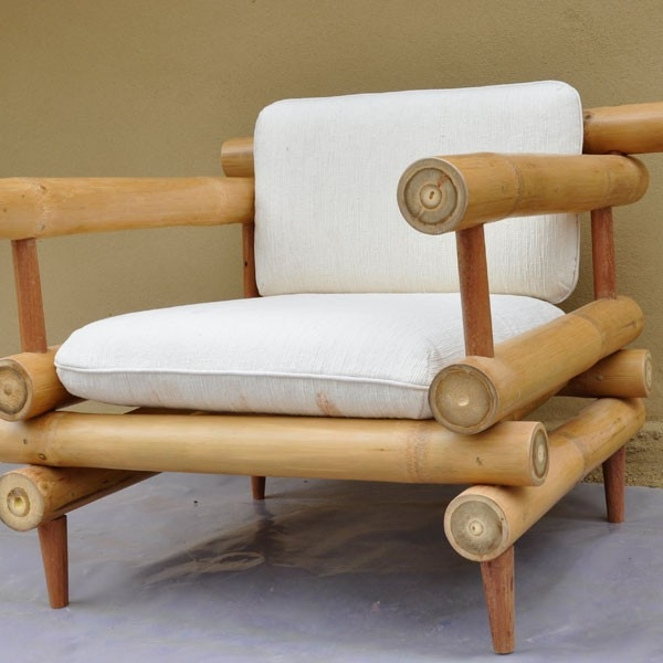 Futon Double Bed For 2 People Bamboo Bedroom Furniture 160x200cm perfectly regarding Bambo Sofas (Image 17 of 20)
