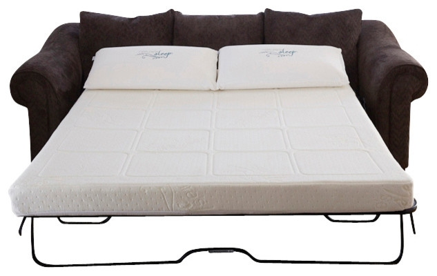 Gel Memory Foam Sofabed Sleeper Replacement Mattress Modern nicely intended for Sofa Bed Sleepers (Image 9 of 20)