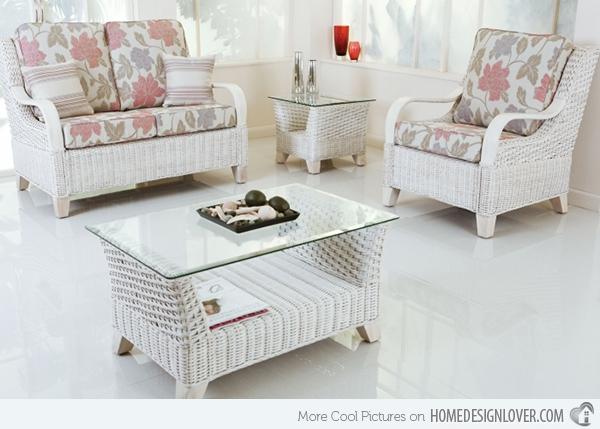 Featured Photo of White Cane Sofas