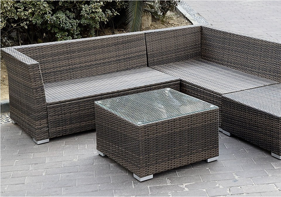 Giantex 6pc Patio Sectional Furniture Pe Wicker Rattan Sofa Set definitely with regard to Cheap Patio Sofas (Image 7 of 20)