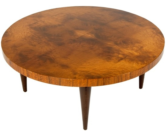 Gilbert Rohde Paldao Group Art Deco Round Coffee Table Modernism most certainly pertaining to Art Coffee Tables (Image 14 of 20)